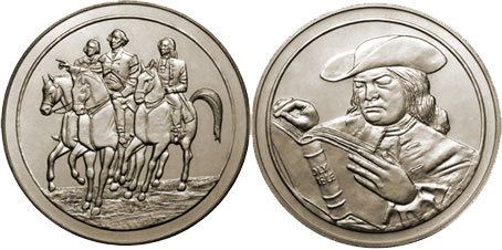 1973/5 Royal Mint Freedom Medals