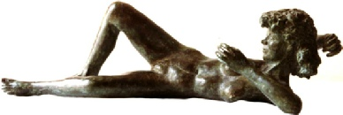 1988/4 reclining nude
