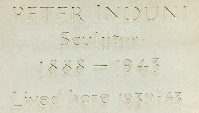 1985/2 Memorial stone to Peter Induni