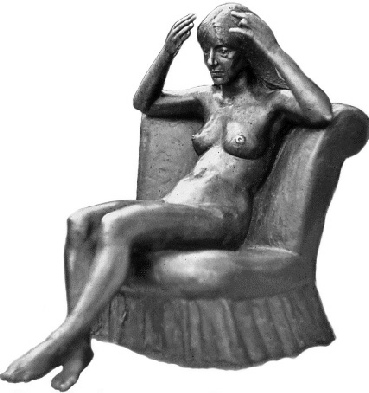 1970/10 American Girl on Chair